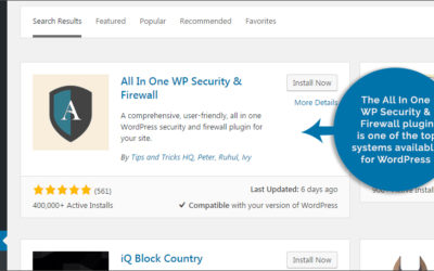 Problem with All in one WP Security & firewall