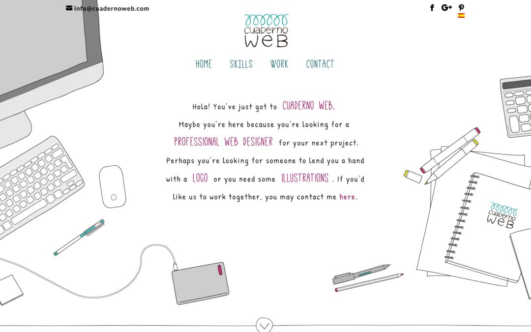 Cuaderno Web